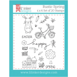 Tampons clear Rustic Spring Lil'inker Design
