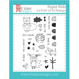 Tampons clear Super Kids Stamp Lil'inker Design
