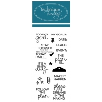 Tampons clear Planner-Goals - Technique Tuesday