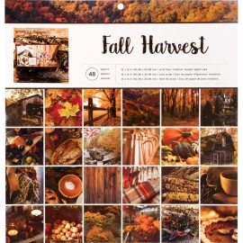 Bloc 30 x 30 de feuilles Fall Harvest - American Crafts