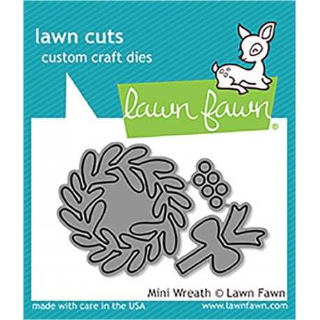 Die set - Mini Wreath - Lawn Fawn