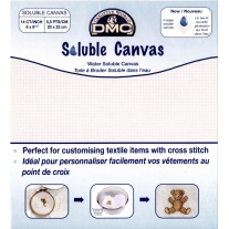 Canevas vierge soluble à l'eau DMC