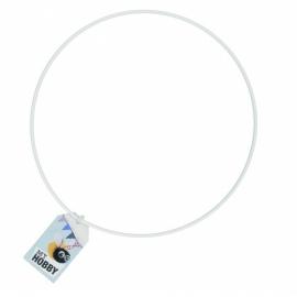 Anneau en métal blanc pour attrape-rêves - Rico Design