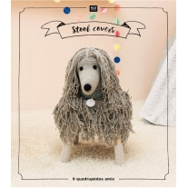 Tabourets animaliers au crochet - Rico Design