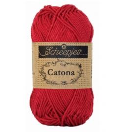 Catona Scheepjes Rouge écarlate - N° 192