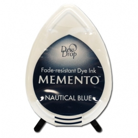 Encreur Memento - Dew Drops - Nautical Blue