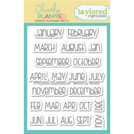 Tampons Clearly Planned - Month by Month Taylored Expressions