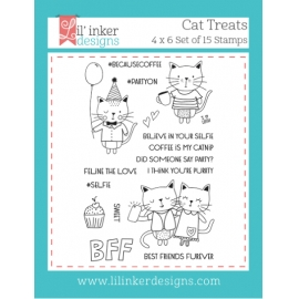 Tampons clear Cat Treats Lil'inker Design