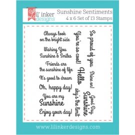 Tampons clear  Sunshine Sentiments Lil'inker Design