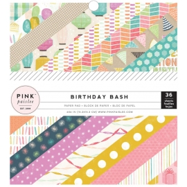 Bloc 15 x 15 Pink Paislee Birthday Bash