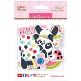 Embellissements Bella Blvd Popsicles & panda
