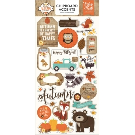A perfect autumn - Chipboards - Echo Park Paper