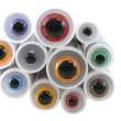Yeux de sécurité de couleur pour doudou au crochet