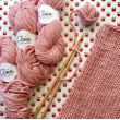 ByClaire Chunky Cotton prune n°5