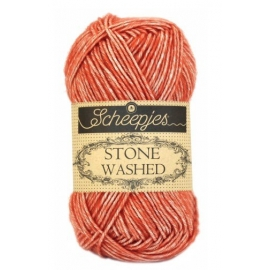 Stone washed  Scheepjes 816 Coral