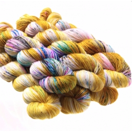 Hedgehog Sock yarn Fool's Gold