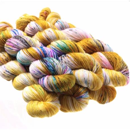Hedgehog Sock yarn Fool's Gold