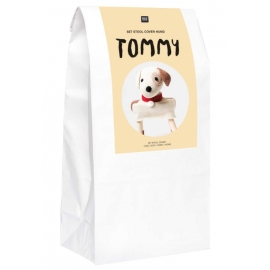 Kit Tabouret au crochet Tommy