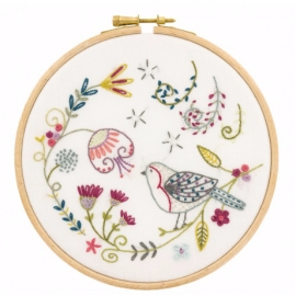 Kit de broderie oiseau