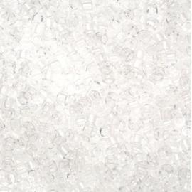 Miyuki delica's 11/0 - transparant crystal 141
