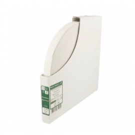 Élastique rigide blanc 15mm