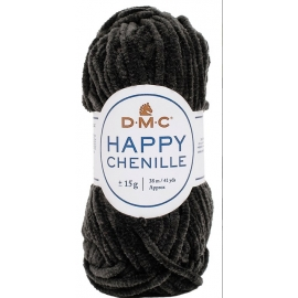 Fil Happy Chenille DMC -  noir 22