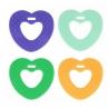 Coeur de dentition en silicone