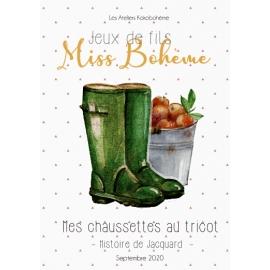 V5 Ma Box chaussettes - Histoire de Jacquard-