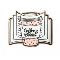"""Pin's """" Coffee & Books"""""""