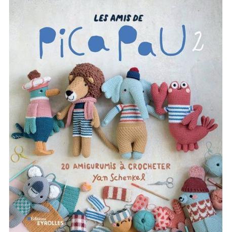 LES AMIS DE PICA PAU VOLUME 2 - 20 AMIGURUMIS A CROCHETER