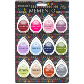 Encreur Memento - Dew Drops - kit sorbet scoops