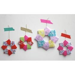 Couronne de Noël en Origami - Mercredi 24 Novembre