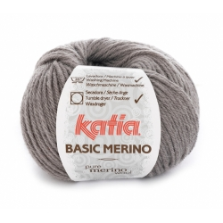 Basic Merino gris moyen 11 - Katia