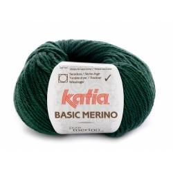 Basic Merino vert sapin 15 - Katia