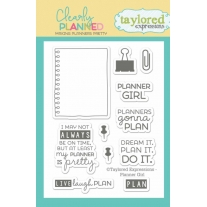 Tampons Clearly Planned - Planner Girl Taylored Expressions