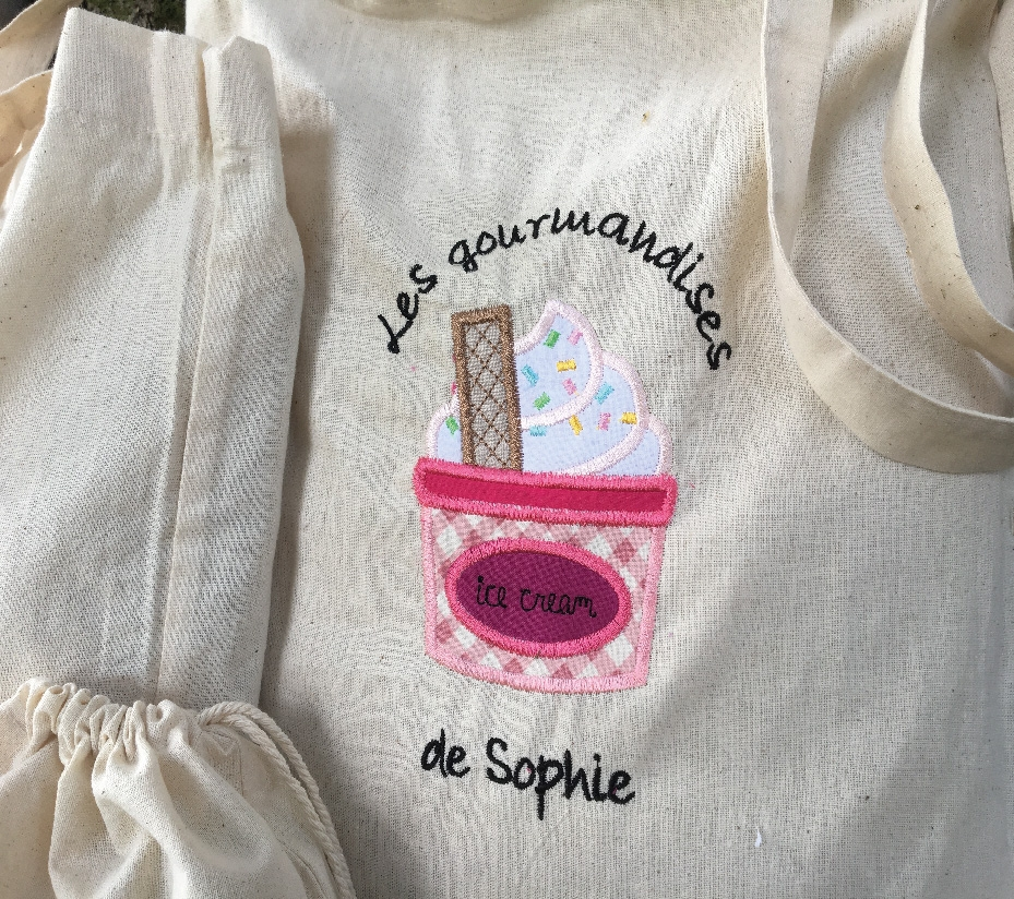 Broderie personnalisable