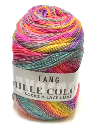 Mille colori socks and lace luxe