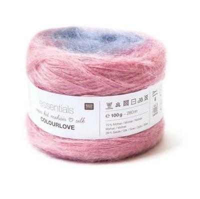 Essentials Super Kid Mohair Silk COLOURLOVE